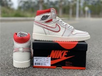 Air Jordan 1 Retro High OG ''Sail/Red''