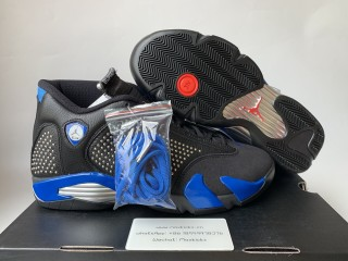 Air Jordan 14 Retro Supreme Black/Blue