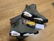 Air Jordan 6 Retro Travis Scott x (size 8-12 Retail pair,size 7.5 13 only have a1 quality)