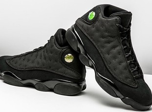 Air Jordan 13 Retro  Black Cat''