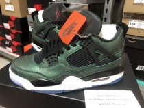 Air Jordan 4 Retro Slik Green