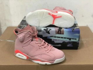 Air Jordan 6 Retro Aleali May Pink