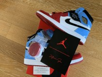 "Air Jordan 1 Retro ""Fearless"" Retail Quality"