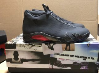 Air Jordan 14 Retro Black Ferrari