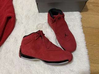 Air Jordan 18 Retro Toro (zelle $115, paypal $120)