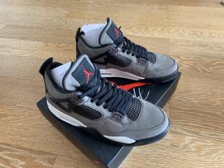 Air Jordan 4s Travis Scott Olive