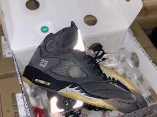 Air Jordan 5 Retro Off White