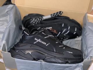 Balenciaga Triple-S All Black New
