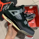 Air Jordan 4 Retro OFF-WHITE ''Bred''