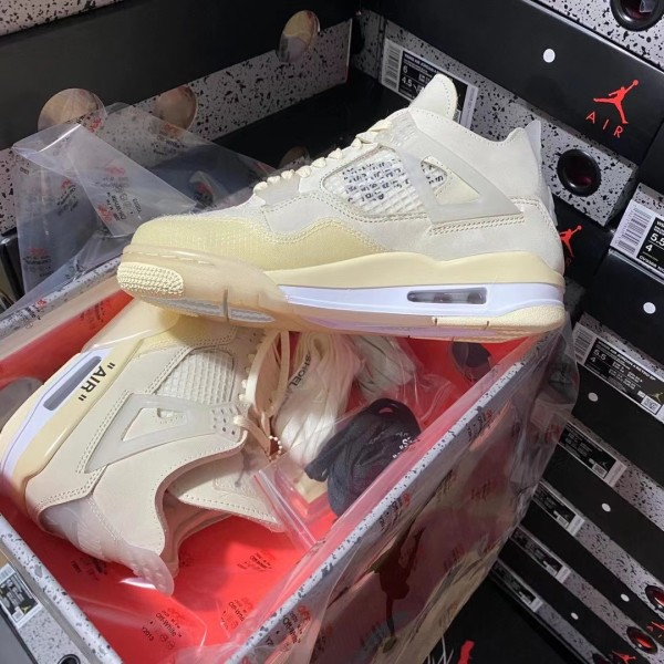 Air Jordan 4 retro ''Off White'' Sail