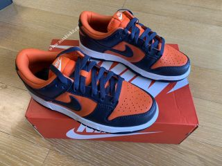 Nike Air SB Dunk Black Orange