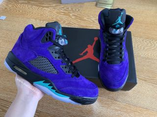 Air Jordan 5 Retro ''Grape''