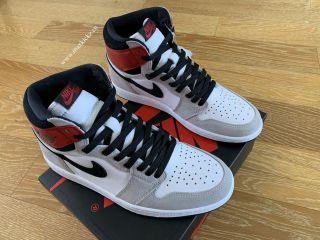 """Air Jordan 1 High OG """"Light Smoke Grey''"""