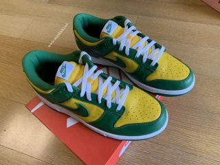 Nike Dunk Low Pro SB Yellow Green