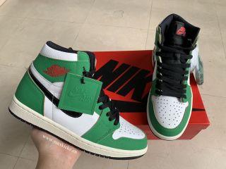Air Jordan 1 Retro ''Lucky Green''