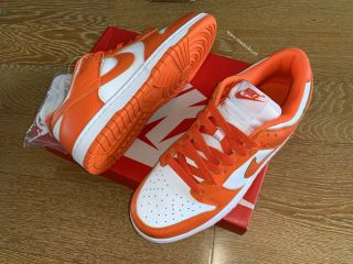 Nike Air SB Dunk White Orange