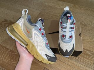 Nike Air Max 270 Travis Scott x  React Cactus Trails
