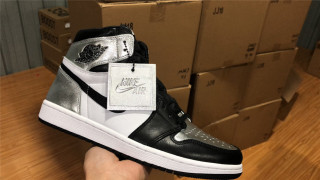 "Air Jordan 1 Retro High OG WMNS ""Silver Toe"""