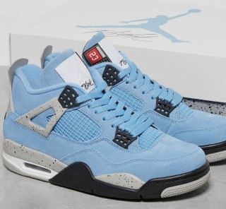 Air Jordan 4 Retro ''University Blue''