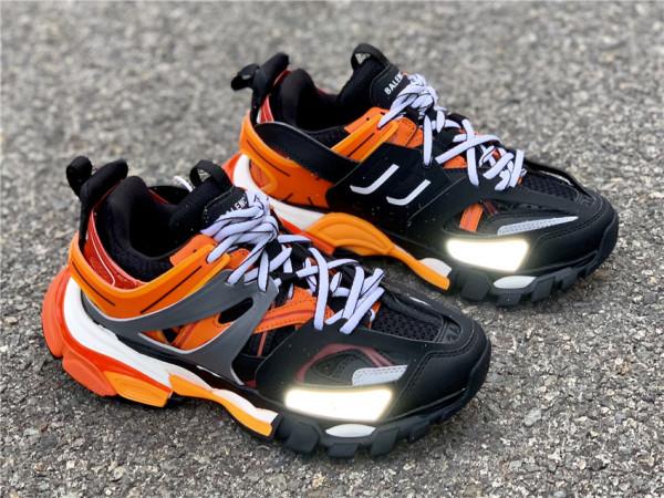 Balenciaga Sneaker Tess s.Gomma Black Orange