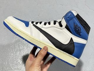 Air Jordan 1 Retro Travis Scott White Blue