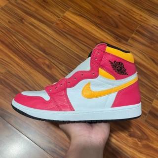 Air Jordan 1 Retro High OG White/Pink/Yellow