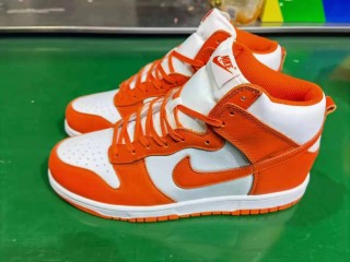 Nike Air SB Dunk High White Orange