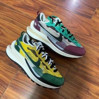 Nike Vapor Waffle x Sacai White Green Yellow
