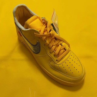 Nike Air Force One Off White OW x Yellow