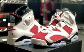 Air Jordan 6 Retro  Carmine  Nike Back