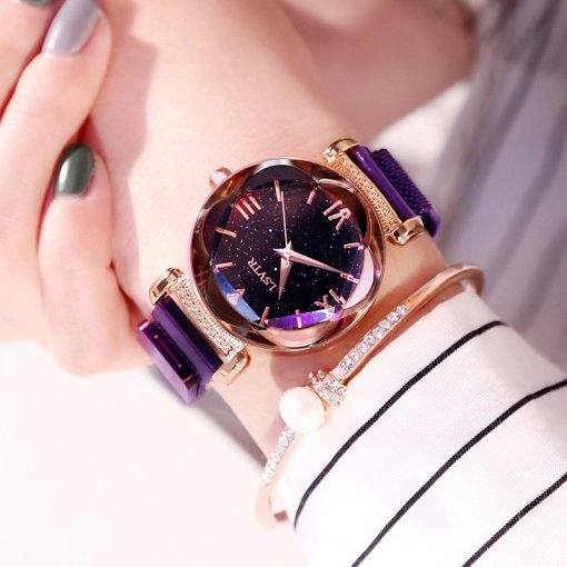M Romantic Star Magnet Lady Watch【Cash On Delivery】
