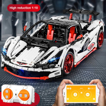 ICARUS Sports Car Model 1928Pcs Technic Custom Construction Building Blocks Assembly RC Racing Car Model Kit for Kids Adult