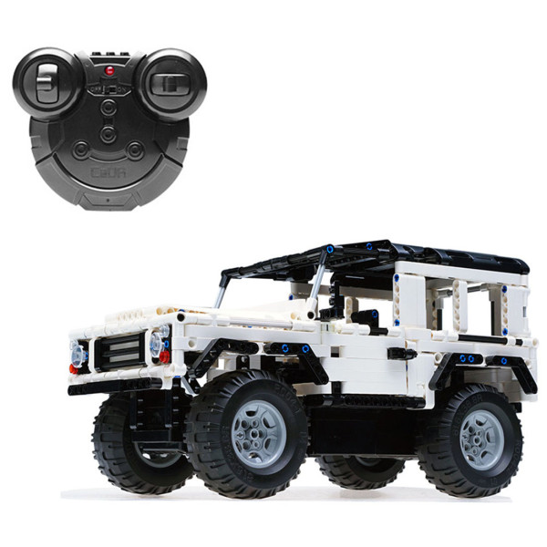 533Pcs 2.4G Building Blocks Remote Control Toy Simulation Assemble RC Car Model Educational Toys