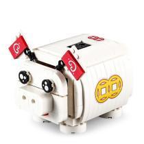 344Pcs Building Blocks Electric Saving Pot DIY Pig Shape Assembled Toy Educational Toys for Children