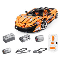 3320Pcs Technic RC McLaren P1 Sports Car Model 1:8 Building Blocks Roadster Model with Light