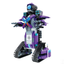 333Pcs 2.4G Remote Control Phone APP Dual Modes Robot Building Block for 100% Building Blocks Brand on the Market - Robert M3 Knight Purple