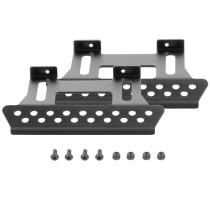 Metal Side Pedal Plate Side Step Sliders for 1/10 Axial SCX10 RC Car