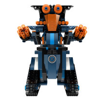 349Pcs 2.4G Remote Control Phone APP Dual Modes Robot Building Block for 100% Building Blocks Brand on the Market - Robert M2 Sapphire