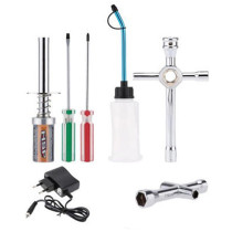 Glow Plug Igniter Ignition Starter Tools Kit for HSP 80141 80142A / 1:10 Methanol Engine / 1: 10 Gasoline Engine