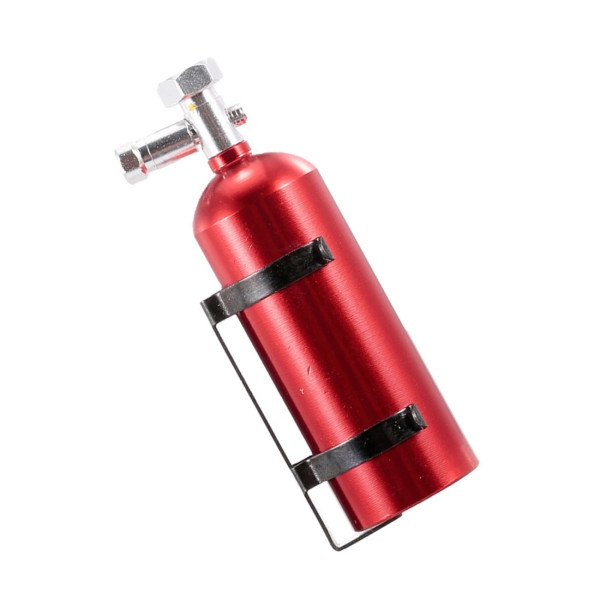 Simulated Metal Fire Extinguisher for 1/10 Traxxas HSP Redcat Rc4wd Tamiya Axial SCX10 D90 HPI RC Crawler - Red