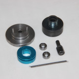 1:10 Model Car Engine with Gear Clutch Model Car Modification Kit (Single V Slot) for Toyan FS-S100 FS-S100G FS-S100(W)FS-S100G(W)