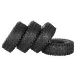 4PCS 120MM 1.9  Rubber Rocks Tyres Wheel Tires for 1:10 SCX10 90047 d90 D110 TF2 Traxxas TRX-4 RC Car