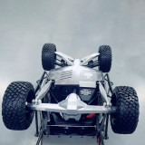 CNC Aluminium Alloy Rear Axle Shell Gearbox Housing Cover for 1/7 Traxxas UDR RC Crawler Car