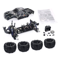 ZD Racing MT8 Pirates3 1/8 4WD 90km/h DIY Monster Truck Car Frame Kit - KIT Version Camouflage