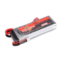 11.1V 2200mAh 30C 3S T-plug Battery for RC Boat and Car / Methanol Engine Model / Gasoline Engine / Blaster