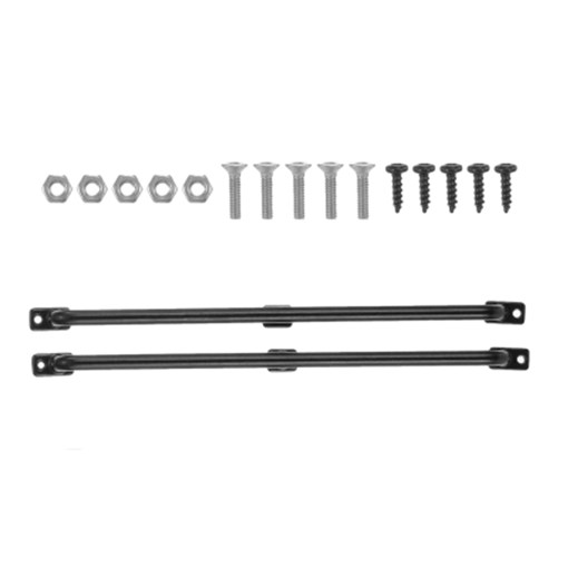 2Pcs 75mm/135mm/151mm Car Railing Metal Handrail for 1:10 RC Crawler Pickup Truck Traxxas HSP Redcat RC 4WD Car