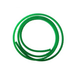 0.22 x 100cm PU Round Belt DIY Timing Belt for Connecting Gearbox and Clutch - Green