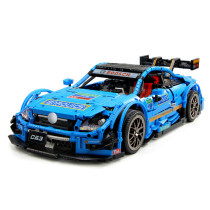 Technic Mercedes-Benz AMG C63 RC Sports Car Model, 1989 Pcs Technic Custom Construction Toy Racing Car Kit Compatible