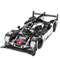 Technic Porsche 919 Hybrid Model 1586Pcs Technic Custom Construction Racing Car Block Building Toys
