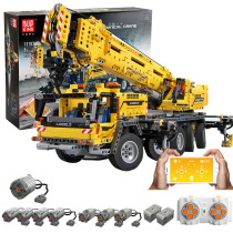 Technic 42009 MK II Model, 2590Pcs RC Mechanical Crane Building Blocks Kit